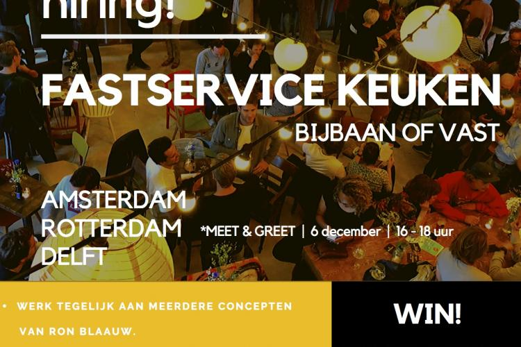 Ron Blaauw - Fastservice kitchen